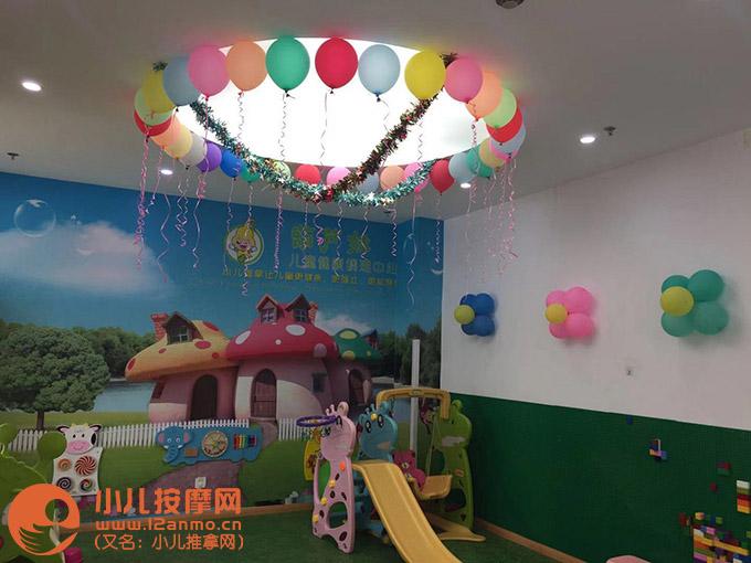 葫芦娃儿童健康调理中心儿童游戏区